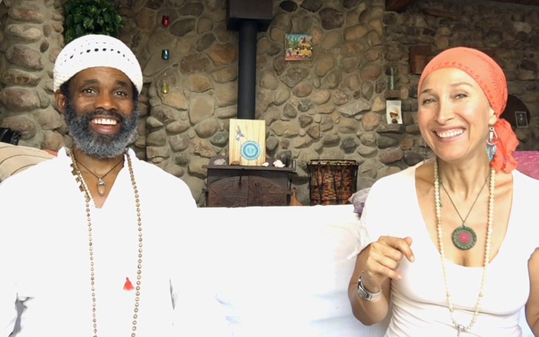 Releasing Stress & Tapping In To Vitality Part 4 with Aykanna