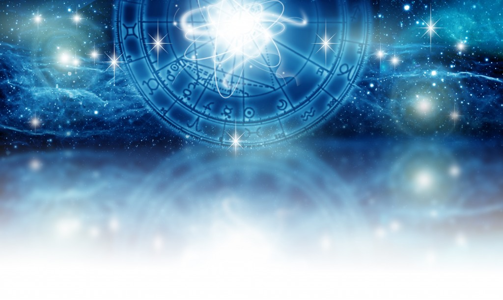 astrology and horoscope concept