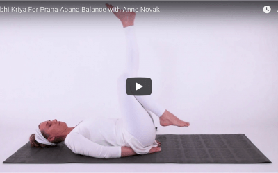 Nabhi Kriya for Prana Apana Balance with Anne Novak