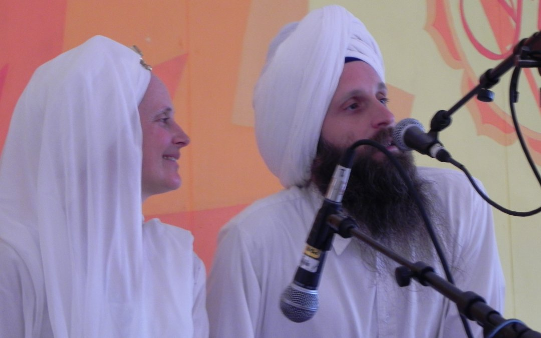 Live on the Blog: Snatam Kaur and Sopurkh Singh Burn Inner Anger