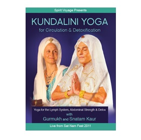Yoga DVD Review: Kundalini Yoga for Circulation and Detoxification with Gurmukh and Snatam Kaur
