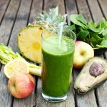 Yoga and Green Juice Cleansing