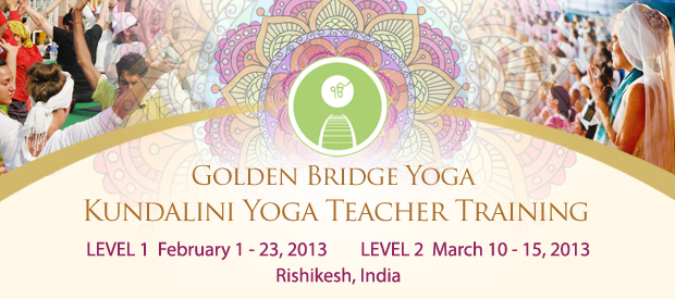 Kundalini Yoga Teacher Training in India with Golden Bridge Yoga!