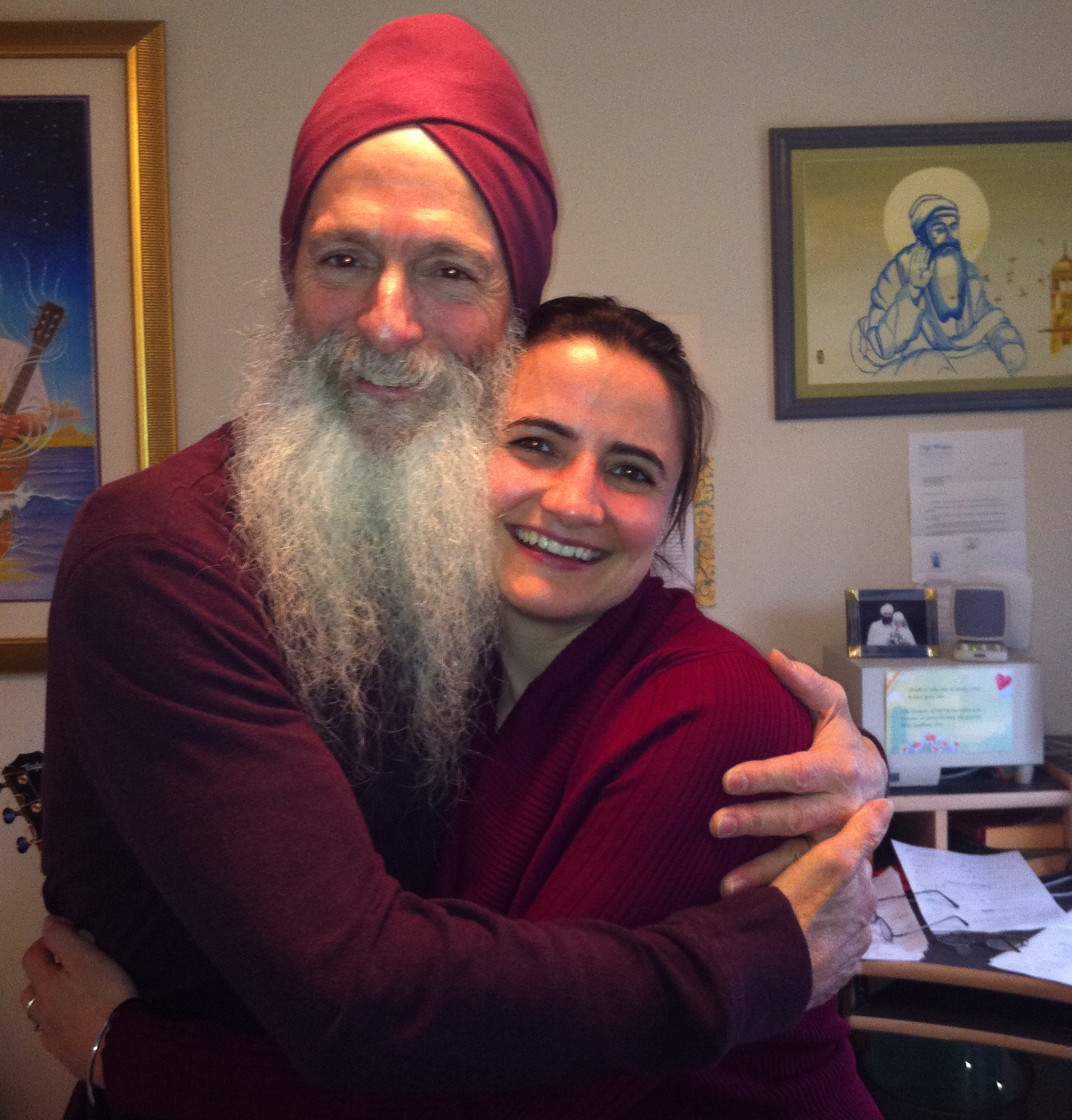Video interview with GuruGanesha Singh about his new album, Kundalini Surjhee