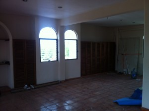 Yoga Room Before