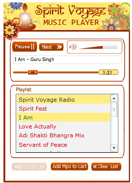 Free Yoga, Mantra and New Age music Radio....Spirit Voyage Radio is HERE!!!