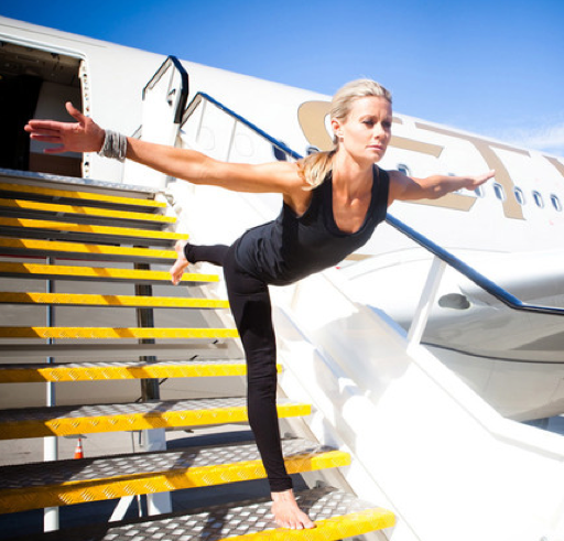 Airport Yoga: Tips for Yoga During Travel