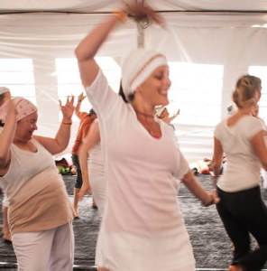 Snatam Kaur's class on The Narayan Shabad at Sat Nam Fest West 2014