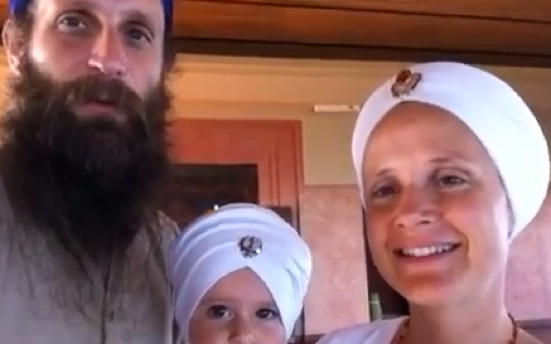 "Video: Snatam Kaur and Sopurkh Singh of Day 40 of the Global Sadhana ""Burn Inner Anger"""