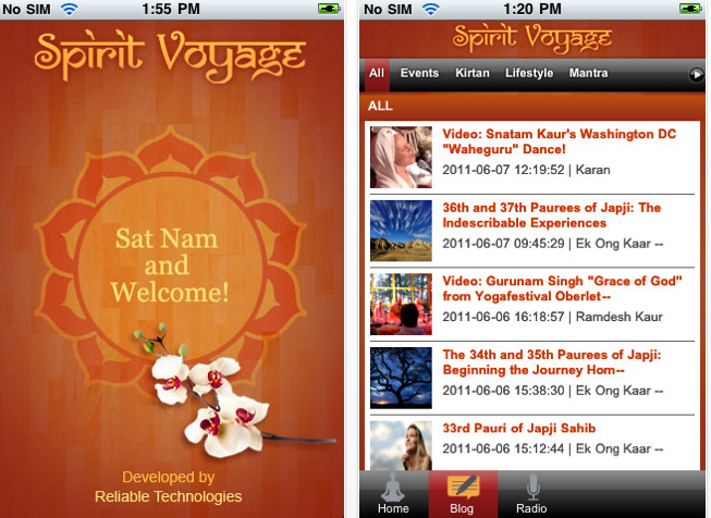 The Official iPhone App for Spirit Voyage is Here!