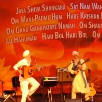 Video: The GuruGanesha Band Dancing