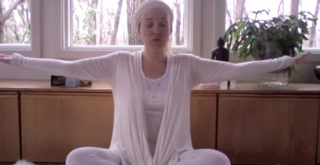 Kundalini Yoga Video: Warm Up with Breath of Fire