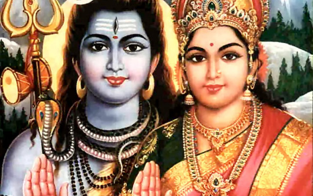 Another Enlightenment Story:  Shiva and Parvati by the Ganges